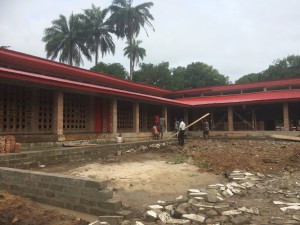 Construction of Magbenteh Community Boarding School